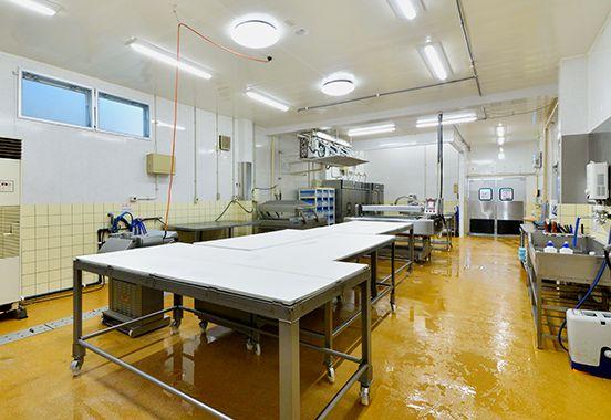 無菌製品仕上げ室